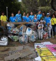 Nettoyage du Vallat des Brayes