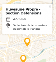 Huveaune Propre - Section Défensions