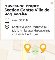 Huveaune Propre - Section Centre Ville de Roquevaire