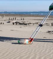 Observation des laisses de mer et ramassage de déchets