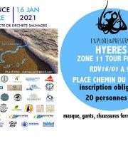 Provence Propre - La Grande Collecte - Hyères Zone 11 Tour Fondue