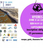 Provence Propre - La Grande Collecte -  Hyères Zone 08 La Capte