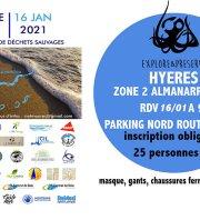 Provence Propre - La Grande Collecte -  Hyères Zone 02 Almanarre Nord