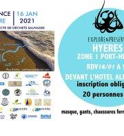Provence Propre - La Grande Collecte - Hyères Zone 01 Port-Hélène