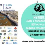 Provence Propre - La Grande Collecte - Hyères Zone 03 Almanarre Sud