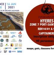 Provence Propre - La Grande Collecte -  Hyères Zone 07 Port-Saint Pierre