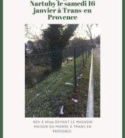 Nettoyage de la Nartuby - Trans-en-Provence