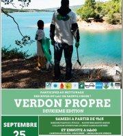 Verdon Propre - secteur Les Salles-Sur-Verdon / Camping municipal