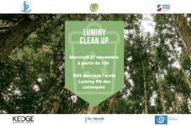Luminy Clean Up - Journée de nettoyage Etudiante